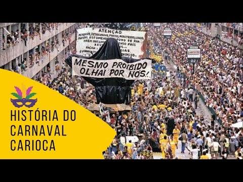 Saiba como surgiu e as histórias do Carnaval Carioca