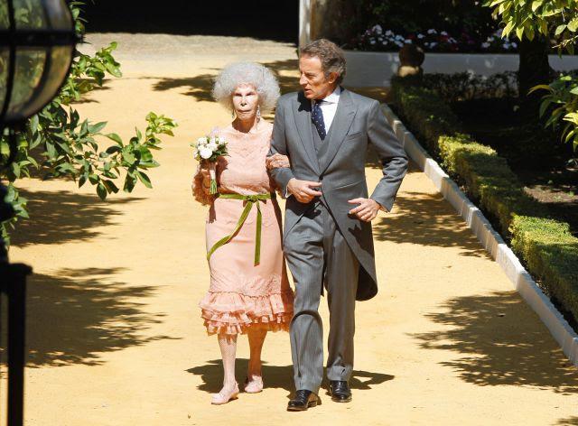 Cayetana de Alba y Alfonso Díez, ya son marido y mujer