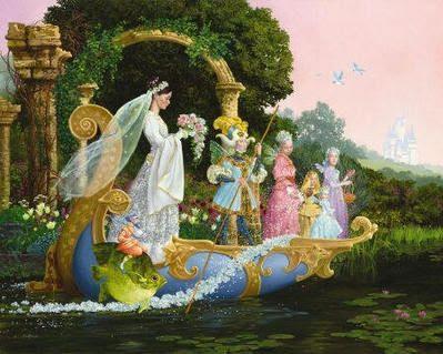 JamesChristensen - The Bride