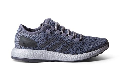 pure boost  grey  sneakers adidas men shoe chapter