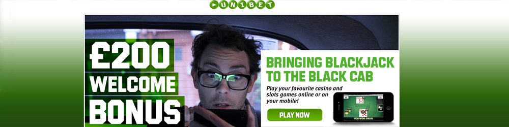 Play Blackjack and casino games on Unibets mobile online casino