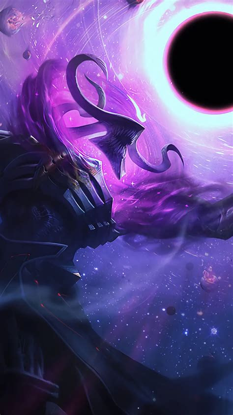 wallpaper dark star thresh league  legends  games