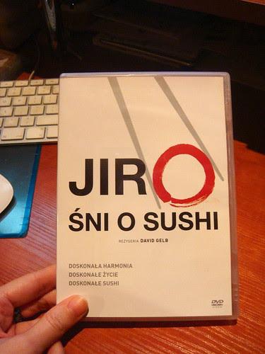 Jiro śni o sushi.