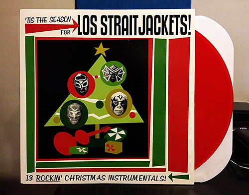 Los Straitjackets - 'Tis The Season For... - Red Vinyl by Tim PopKid