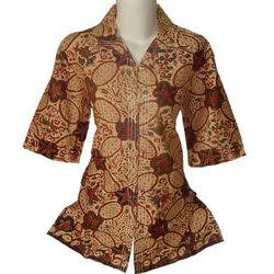 Model Baju Batik Wanita Home