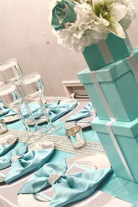 Tiffany and Company Bridal/Wedding Shower Party Ideas