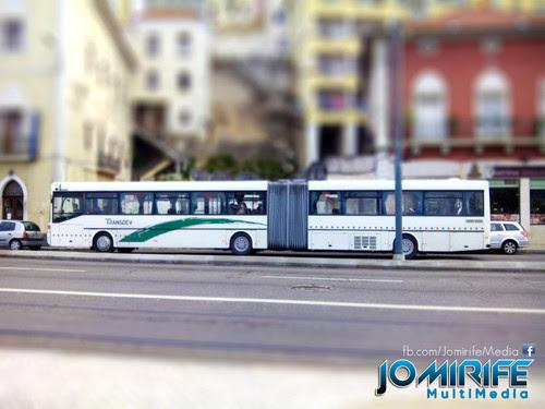 Autocarro duplo em Coimbra [en] Double Bus in Coimbra Portugal