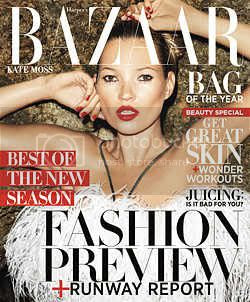 Kate Moss Harpers Bazaar June July 2012 Issue