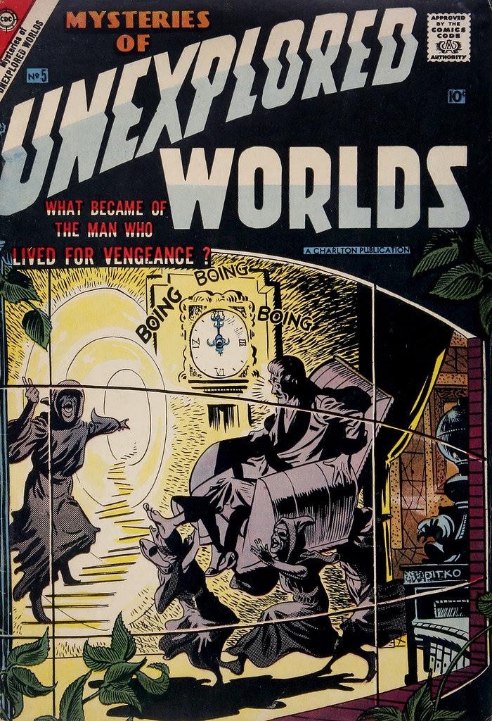 Mysteries of Unexplored Worlds #5 (Charlton, 1957)