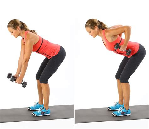 bent  row  dumbbell exercises  strong chiseled