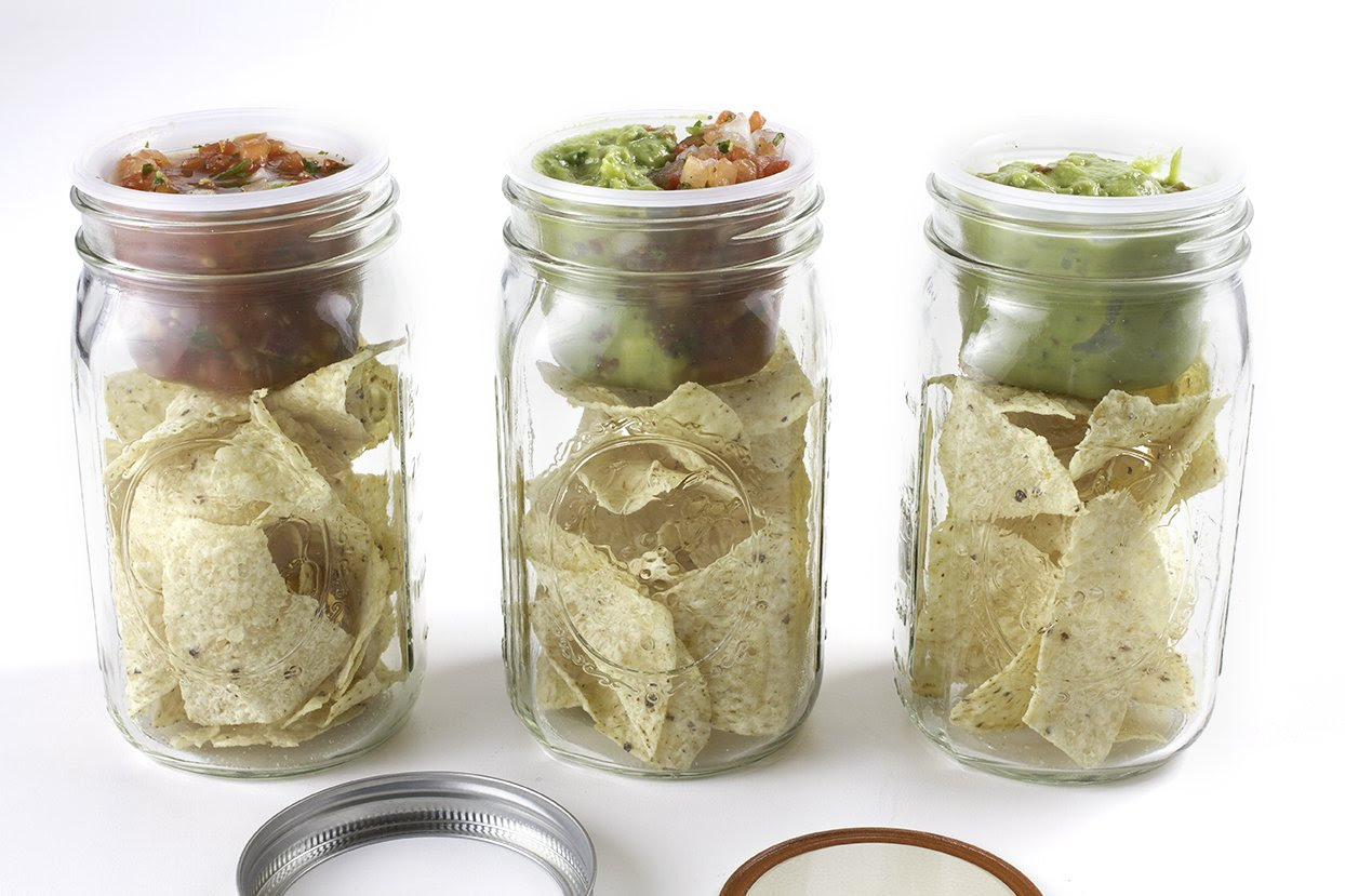 canning jar lunchbox