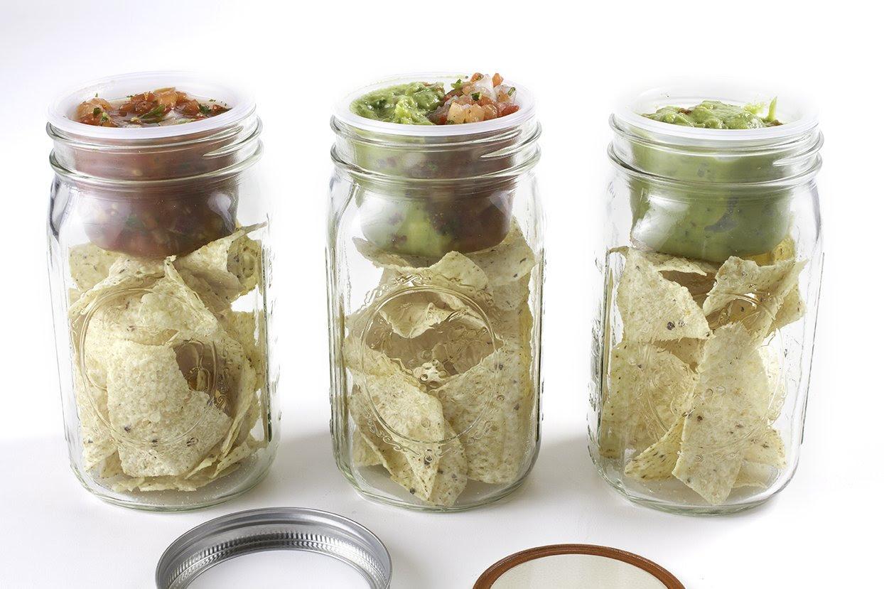canning jar lunchbox