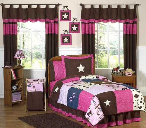 Girls Horse Bedding Ideas: Comforters, blankets and Pillows