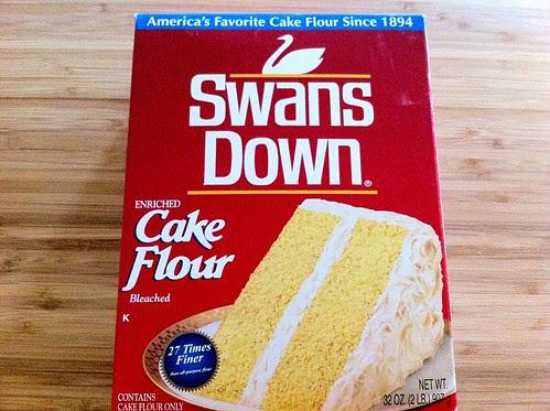 Swans Down Cake Flour Box