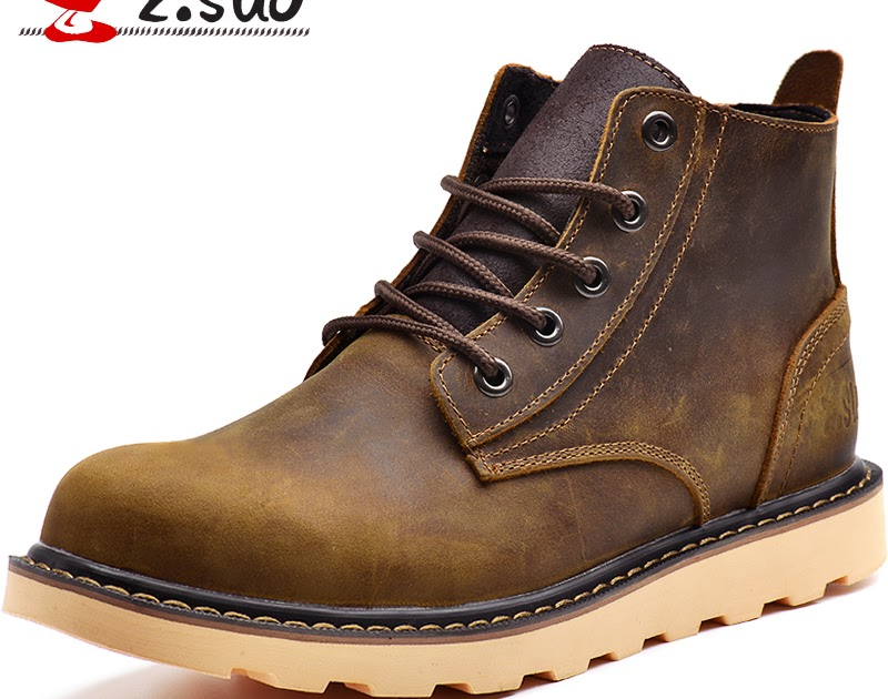 27c5996daff Buy Z. Suo men s boots, the quality of the leather fashion boots man ...
