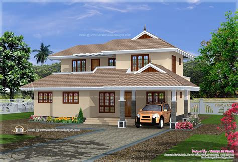 sqft simple kerala home plan home kerala plans