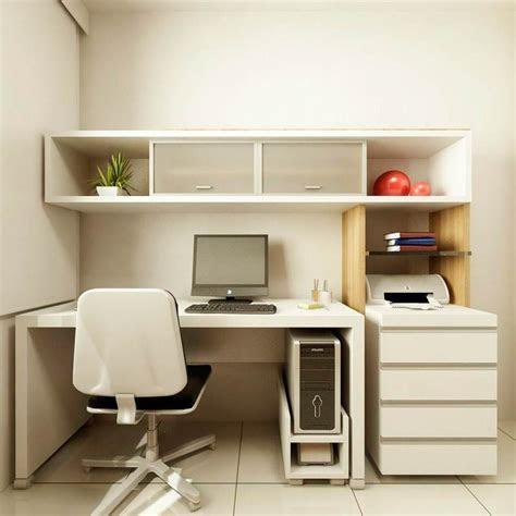 wonderful small home office design  white desk