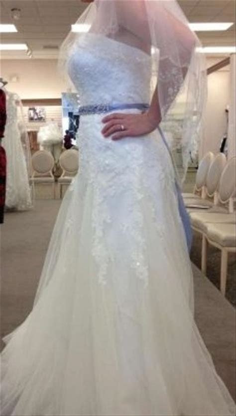 David's Bridal V3469 Wedding Dress   Tradesy