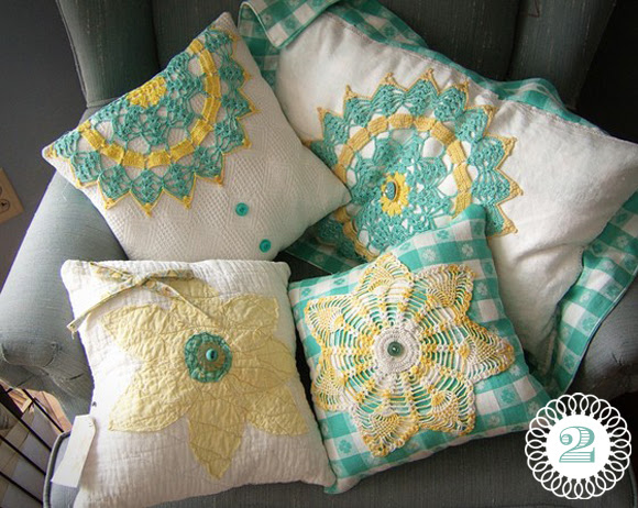 Handmade Finds: The Doily-Not Just For Valentines Day! | Oh My ...