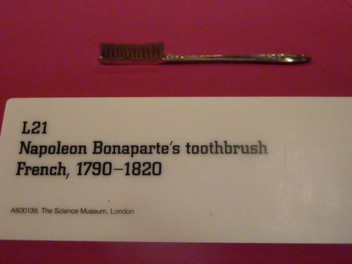 Napoleon's toothbrush