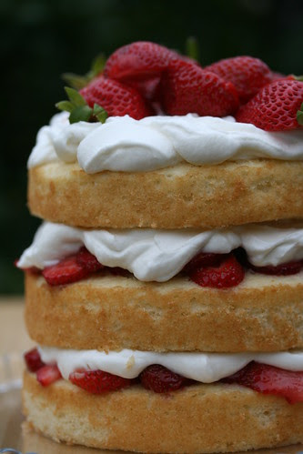 Sky-High Strawberry Shortcake