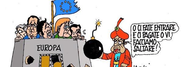 Il nuovo Califfo Erdogan tiene sotto scacco l'Europa