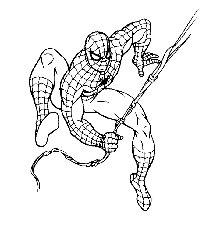 42 FREE SPIDERMAN COLORING PAGES EASY PRINTABLE PDF CDR ...