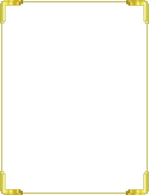 gold border frame png    designing