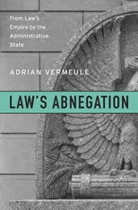 Cover: Law's Abnegation in HARDCOVER