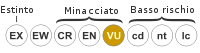 Status iucn2.3 VU it.svg