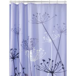 Amazon.com: InterDesign Thistle 72-Inch by 72-Inch Shower Curtain ...