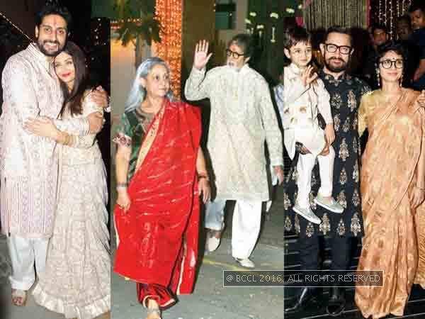 Bollywood stars light up Diwali night