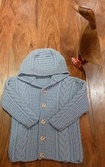 Baby jacket and Deidre