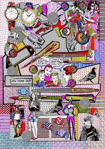 John Mountain - Collage-Jomo-307 by jim leftwich