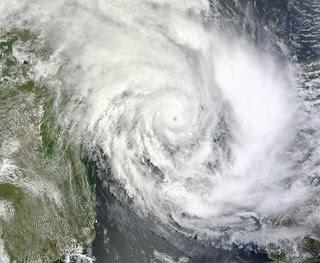 Tropical Cyclone Funso (08S) over the Mozambiq...