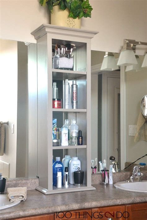 bathroom vanity storage bathroom storage tower master
