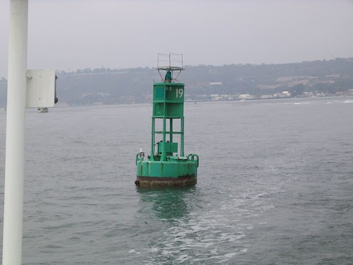 buoy 19.. we meant to go that close (not)