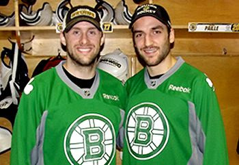 Bruins St Patricks Day warmup jerseys, Bruins St Patricks Day warmup jerseys