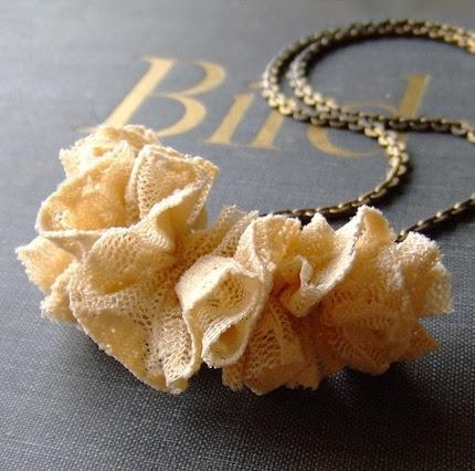 romantic textile no. 2 - necklace