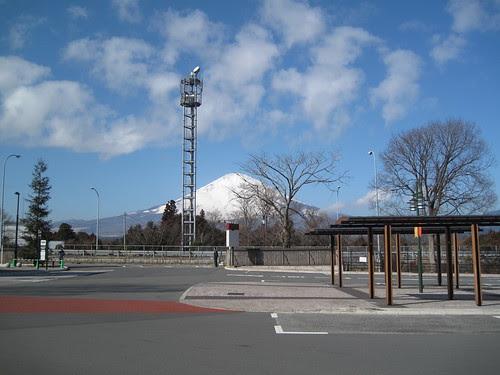 御殿場の富士山
