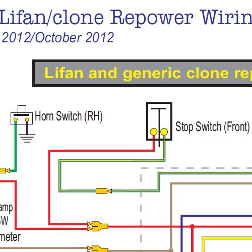 Autosportswiring  Lifan 5 Pin Cdi Wire Diagram