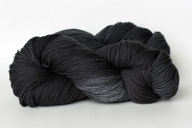 Charcoal in TFA cashmere sock