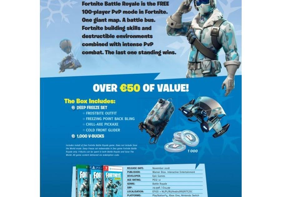 Fortnite Deep Freeze Bundle Xbox Code | Fortnite Aimbot Hack 2019