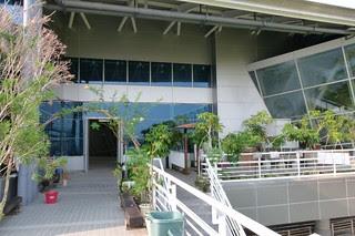 新烏日站二樓陽台
