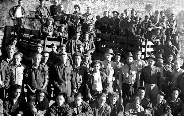 Field Crew at Noon Creek Camp
