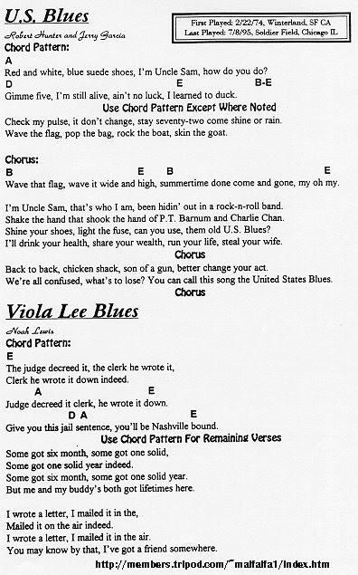 Grateful Ramblings Grateful Dead Lyrics Chord Database Grateful Dead Stories Grateful Dead Pictures