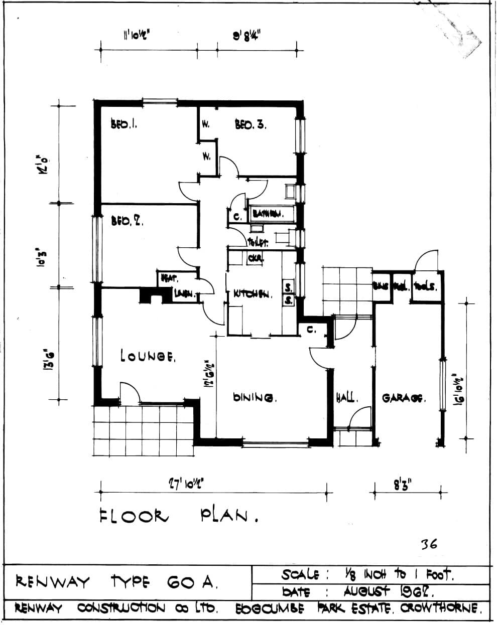 House Plans and Design: Architectural House Plans Bungalow