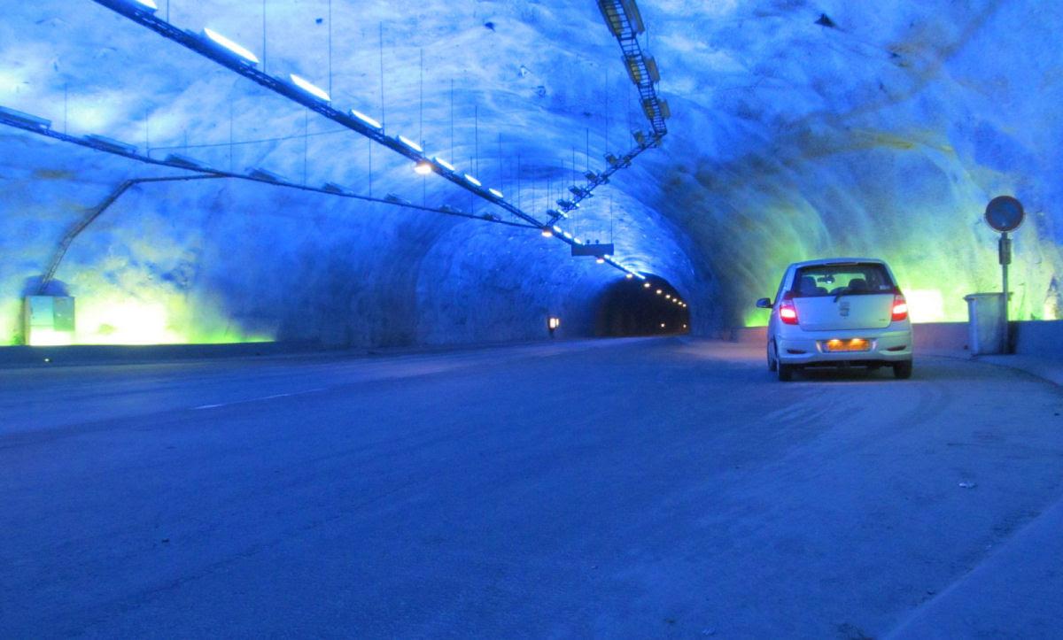 Lærdal Tunnel: o maior túnel rodoviário do mundo 08