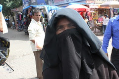 Because They Wear  Hijab..Muslim Beggars Are Saved The Ignominy of their Fate by firoze shakir photographerno1