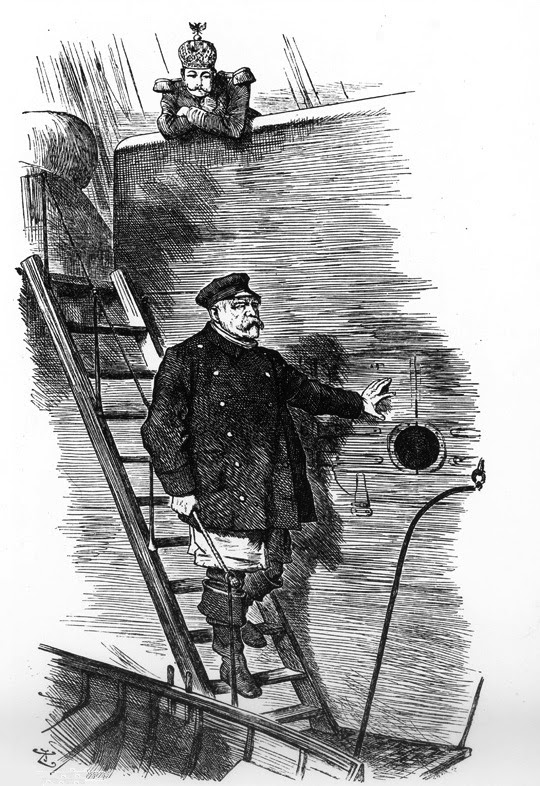 The Emperor dismisses Otto von Bismarck